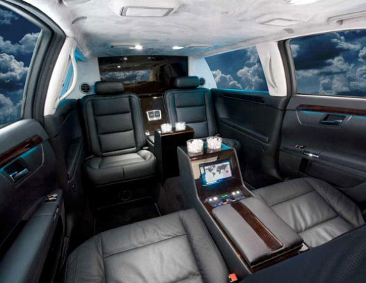 www.limousinesWorld.com - New Mercedes Benz S class BMW Audi Chrysler Cadillac Custom limos luxury vehicles and SUV limos -