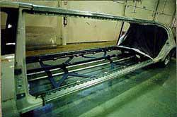 Reinforced floor assembly