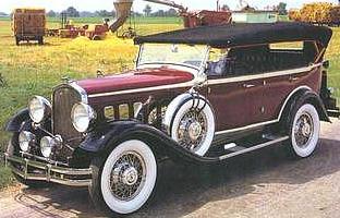 A 1931, 7 passenger limousine