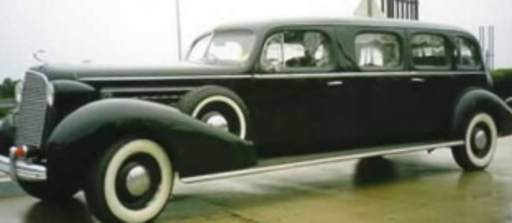 An Early Cadillac Super Stretch Limousine