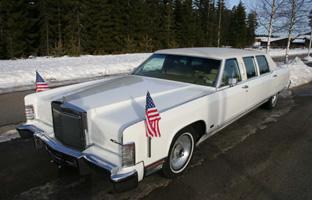 1977 Lincoln Continental Limousine