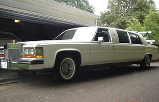 1986 Cadillac Fleetwood Limousine