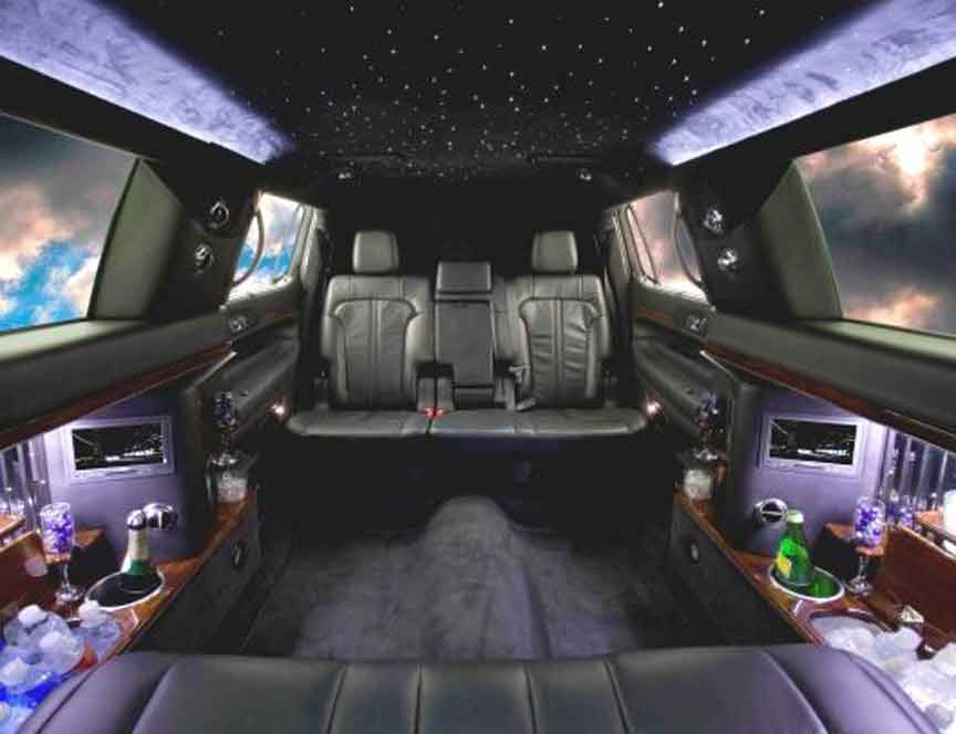Custom Mercedes Benz S Class Limos and Limousines Chrysler limos Audi BMW Cadillac Escalade Custom limos luxury vehicles