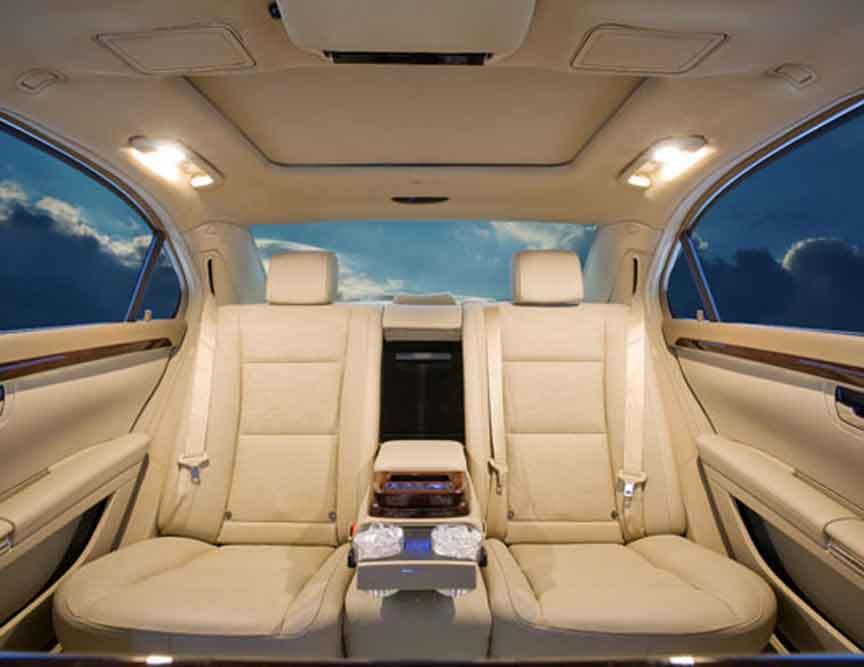 Custom limos luxury vehicles and SUV limos -