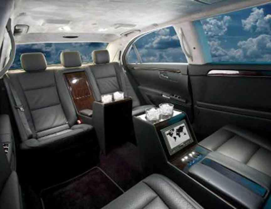 www.limousinesWorld.com - New Custom Mercedes Benz S Class Limousines Chrysler limos Audi BMW Cadillac Escalade Custom limos luxury vehicles and SUV limos -