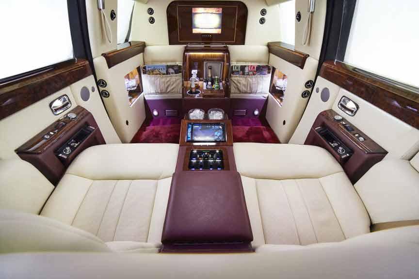 Limousinesworld.com - Rolls Royce Phantom Limousine - Limo Manufacturer