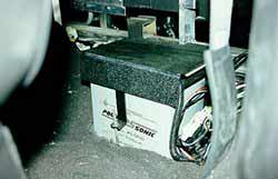 Reserve starting battery