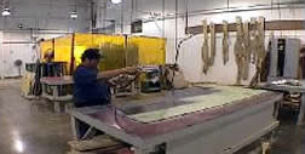 Limousine woodworking