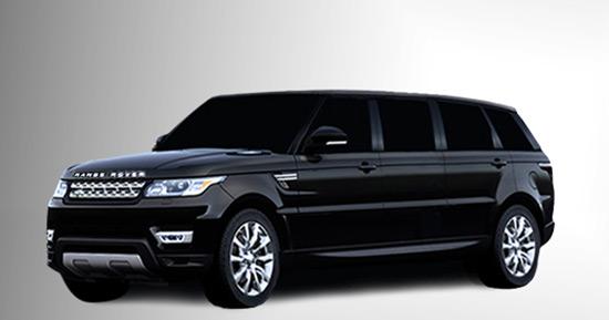 Range Rover Limousine-Range Rover Limo-Range Rover custom SUV limo