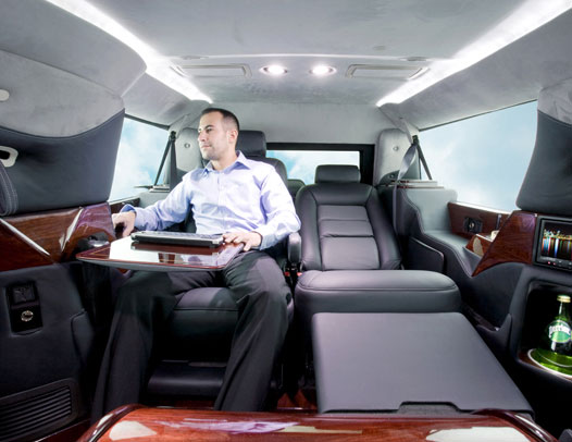 LimousinesWorld - Mobile office CEO - Custom Limousines - Custom SUV -