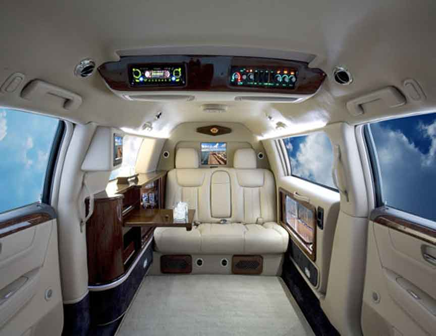 presidential armored cadillac limousine limousinesworld. Black Bedroom Furniture Sets. Home Design Ideas