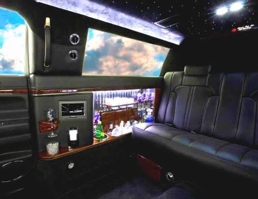 luxury vehicles and SUV limos -