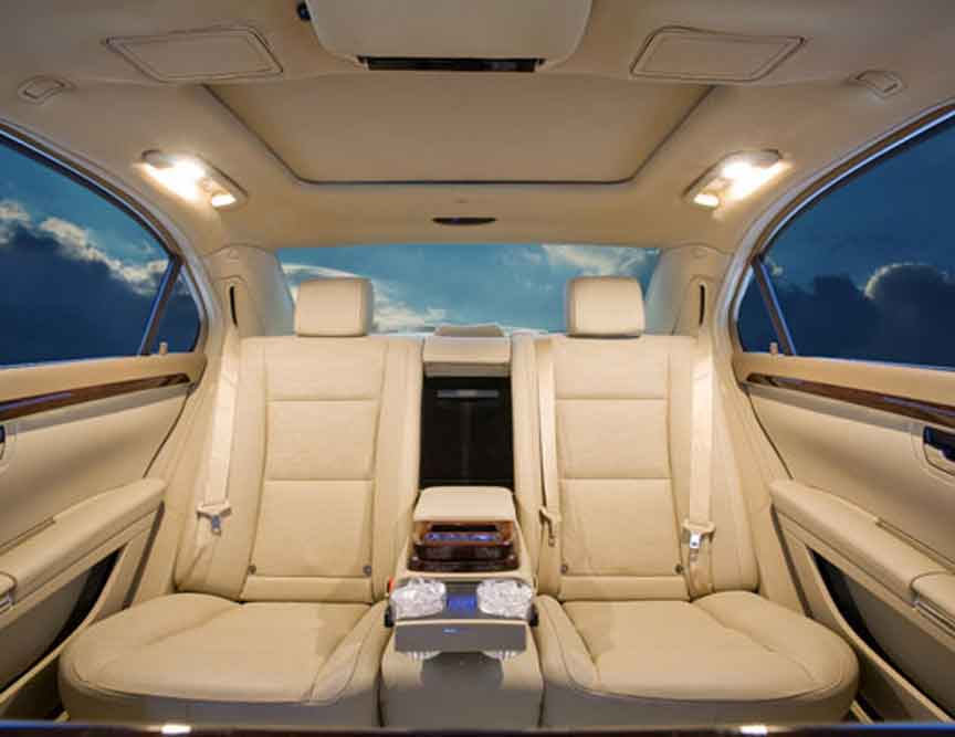 Custom limos luxury vehicles and SUV limos -